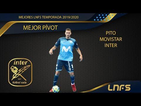 Pito, Trofeo al 'Mejor Pívot' de la LNFS en la Temporada 2019/20