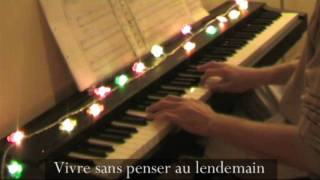 Danser encore - Piano version HD