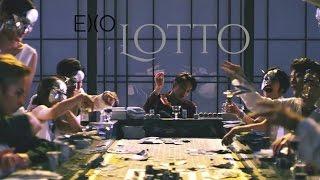 EXO- Lotto. Letra fácil (pronunciación).