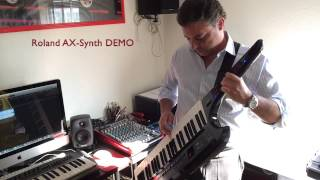 Gary Moore - Still got the blues | Roland AX-Synth DEMO