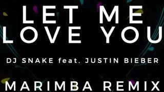 DJ Snake ft. Justin Bieber - Let Me Love You (Marimba Remix)