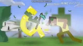 Minecraft Naruto Shippuden Opening 16 AMV Ultimate Versi [indo]