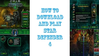 How to download and play star defender 4