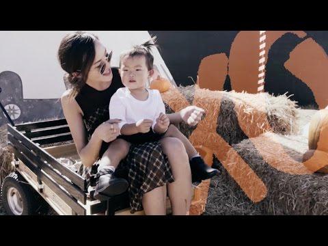 Mommy & Me Fall Lookbook and Choose Chloe's Halloween Costume! | Chriselle XO