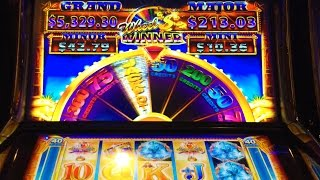 Ainsworth Fortune Queen slot machine - live play & failed bonus (1st & last look)