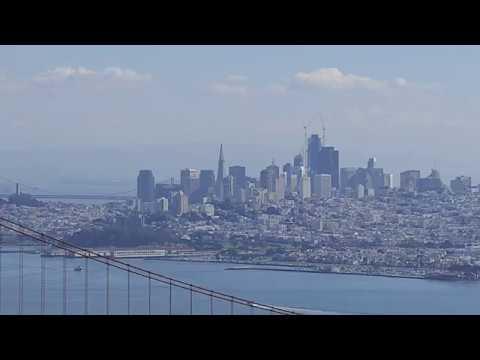 Panasonic Lumix FZ2500 - San Francisco Zoom Range Test (4K)