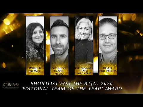 BTJAs 2020 Editorial team of the Year