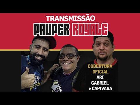 Pauper Royale - Narração ao vivo - 13-08-2020