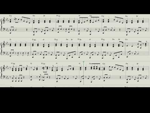 Piano Score: The Long And Winding Road - The Beatles