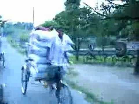 Bangladesh – Rickshaw Ride in Rajshahi