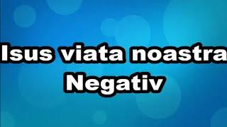 Isus viata noastra negativ by Cipri