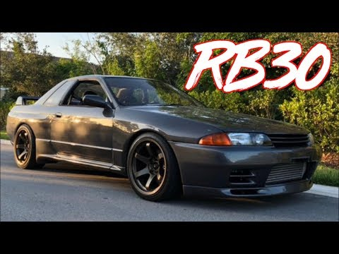 1000+HP Sequential RB30 R32 GTR Godzilla Project  - Building the RB30 EPS 9
