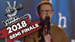 Herbert Grönemeyer - Der Weg (Samuel Rösch)   The Voice of Germany   Halbfinale