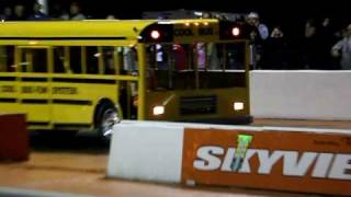 Cool Bus Wheelstander - 2010 Skyview Drags