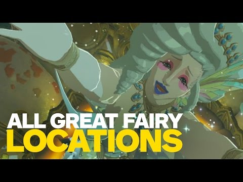 All Great Fairy Fountain Locations in Zelda: Breath of the Wild
