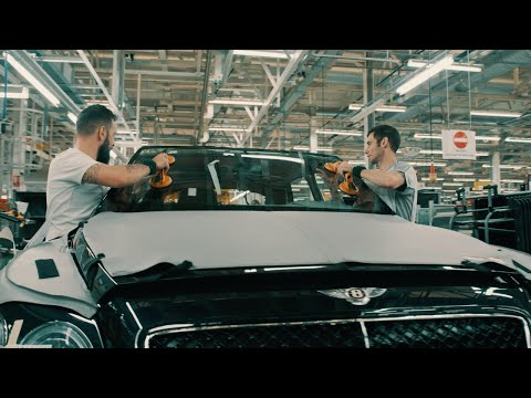 The crafting of Bentayga Speed - shown from the air | Bentley