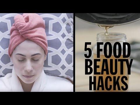 5 Food Beauty Hacks   Food Network