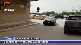 Mazara: controlli dei carabinieri