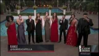 Oscars Medley - RANGE a cappella [E! Live from the Red Carpet at 2015 Academy Awards]