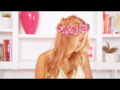 How To: Fishtail Flower Crown Braid