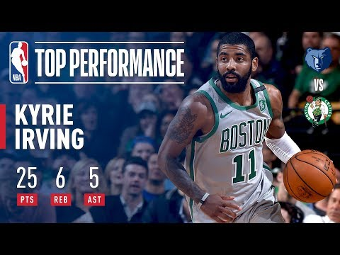 Kyrie Irving Defends Home Court vs The Grizzlies!