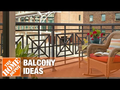A video on how to decorate with inspiring balcony ideas.
