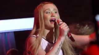 Iggy Azalea - F**k Love LIVE HD (2014) Orange County The Observatory