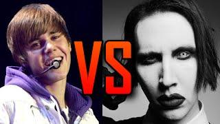 Justin Bieber VS. Marilyn Manson