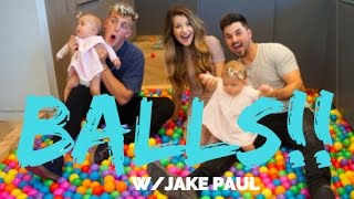 JAKE PAUL'S COLORFUL BALLS! VLOG