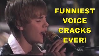 15 Funniest VOICE CRACKS Ever!
