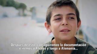 Un adolescente refugiado en Grecia sueña con regresar a Siria | UNICEF