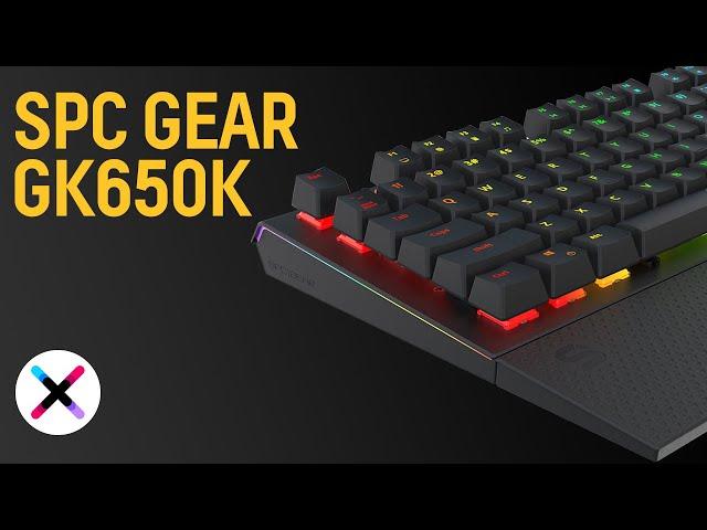 KOLEJNY HIT OD SPC GEAR? 🔥  | Test, recenzja SPC Gear GK650K [+PROMOCJA]