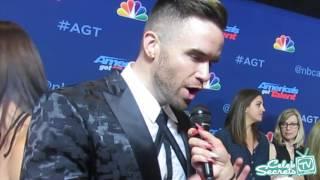 Brian Justin Crum Interview   America's Got Talent Live Show - Week 3