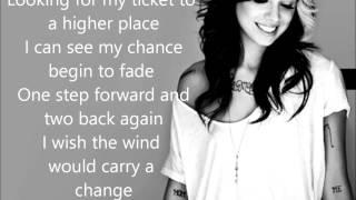 Christina Perri  Burning Gold Lyrics