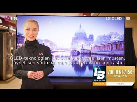LG OLED B8 - Suomi