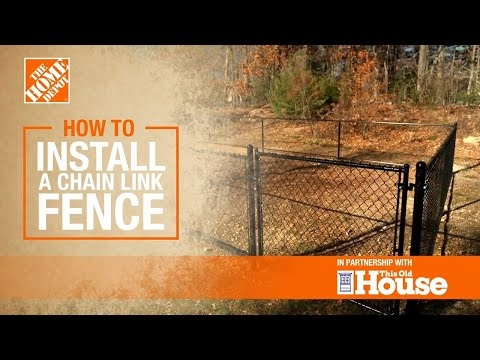 How to Install a Chain Link Fence
