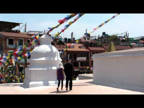 SANY0722.MP4 BoudhaNath Stupa Movie