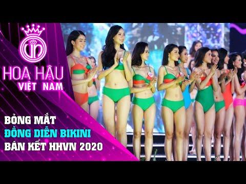 Ngất ngây với phần trình diễn bikini của top 60 hoa hậu Việt Nam 2020