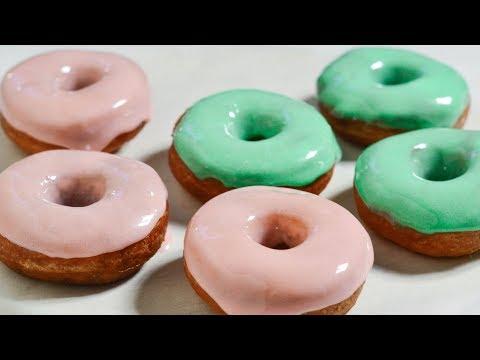 ПОНЧИКИ ☆ Глазурь из МАРШМЕЛЛОУ ☆ Pumpkin DONUTS with marshmallow