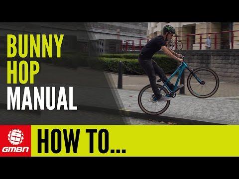 How To Bunny Hop Manual | Mountain Bike Skills