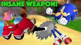 Sonic R Prototype Weapon is Crazy width=