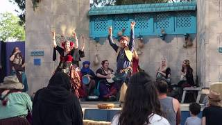 Belly dancing gypsies at the Renaissance Pleasure Faire