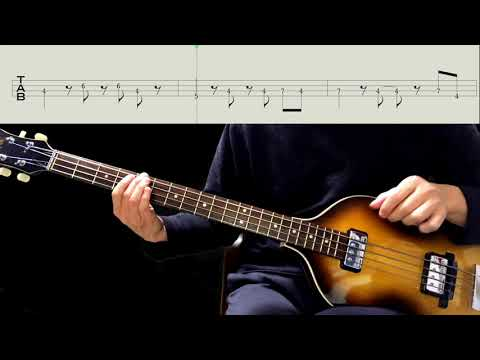 Bass TAB : All I've Got To Do - The Beatles