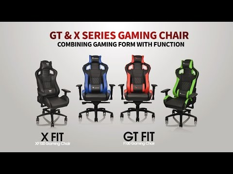 Introducing the Tt eSPORTS GT FIT & COMFORT | X FIT & COMFORT Professional Gaming Chair