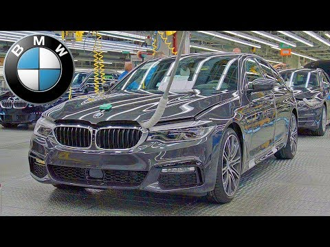 BMW 5 Series ? PRODUCTION LINE ? German Car Factory