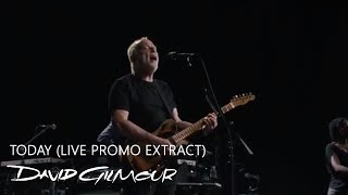 David Gilmour - Today (Live Promo Extract)