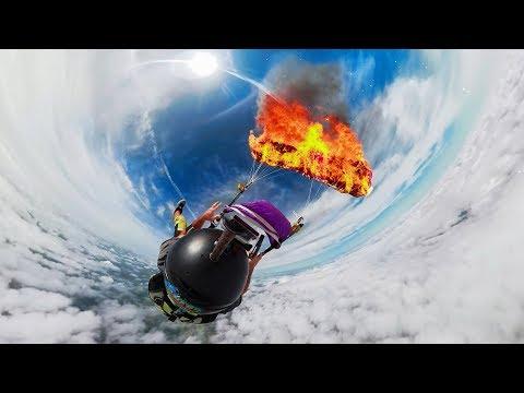GoPro Awards: Fusion Parachute Burn