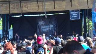 """Asking Alexandria - """"Not the American Average"""" Live - Warped Tour 2011"""