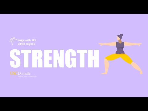 Yoga with JEP Little Yoginis: Strength
