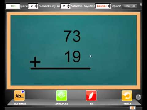 Akıllı Matematik Aracı Konu Anlatımı Bölümü